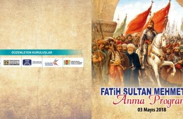 Fatih Sultan Mehmet Han Anma
