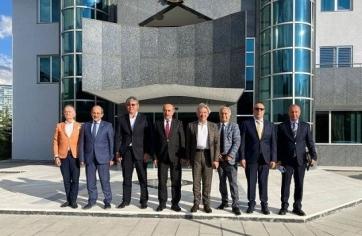 Kazakistan Cumhuriyeti Ankara Büyükelçisi Sn. Abzal Saparbekuly Ziyaret
