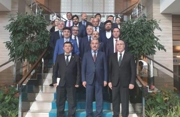 Özbekistan İnşaat Bakanlığı Heyeti
