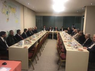 16 Kasım 2017 tarihinde Kamu-Özel Ortaklığı Derneği ile Birliğimiz Arasındaki Toplantı Gerçekleştirildi.