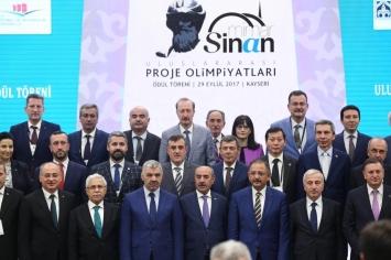 29 Eylül 2017 Tarihinde Mimar Sinan Uluslararası Proje Olimpiyatları Kayseri'de Yapıldı