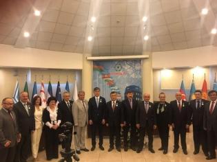 """Genel Sekreterimiz Dr. İlyas DEMİRCİ'ye """"Kırgızistan Devlet Şeref Madalyası"""""""
