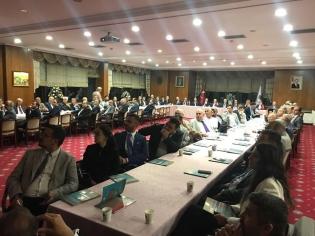 TDMMB Genişletilmiş Yönetim Kurulu Toplantısında, Ankarada Yapılması Düşünülen, Türk Dünyası Kültür Parkı Projesi Üzerinde Konuşuldu.